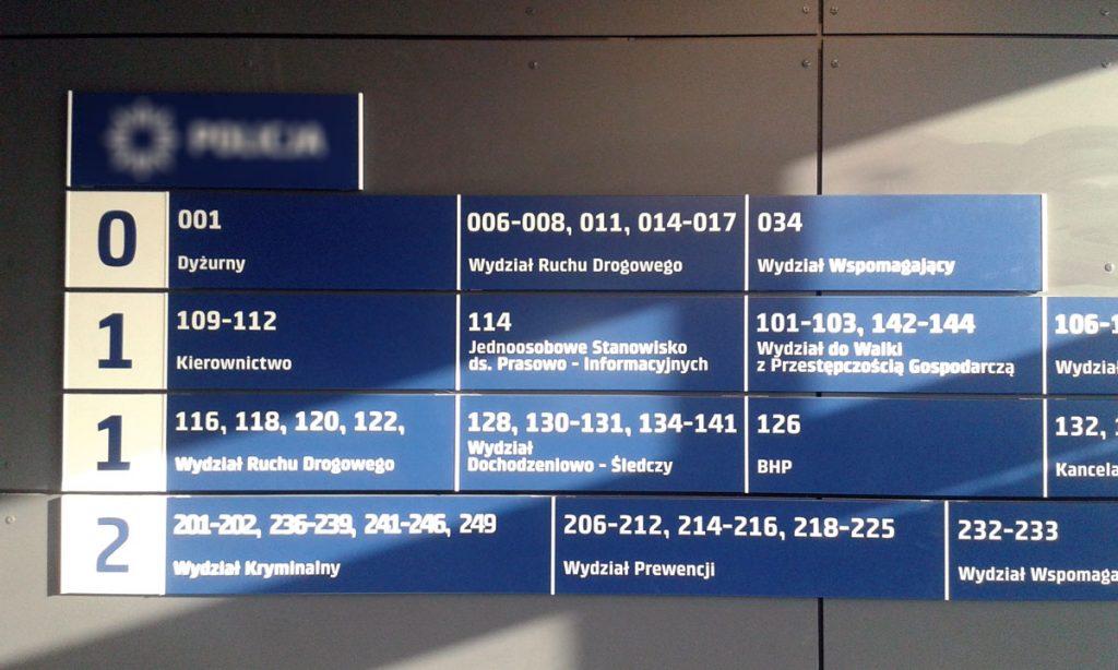 Realizacje RAMA - tablica informacyjna