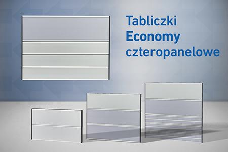 tabliczki przydrzwiowe economy