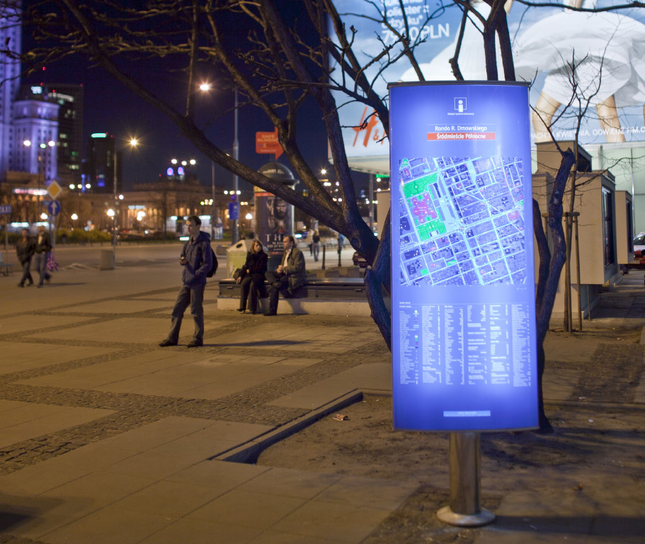 miejski system informacji tablice informacyjne