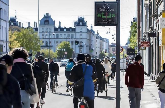 Tablice informacyjne dla rowerzystów