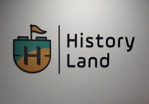 Wykonanie logo 3D History Land
