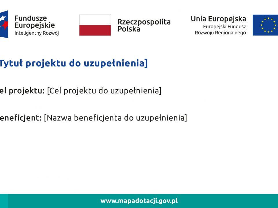 Zasady promocji i oznakowania projektów UE