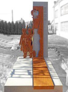 realizacja Rama mała architektura - pomnik w Baranowie