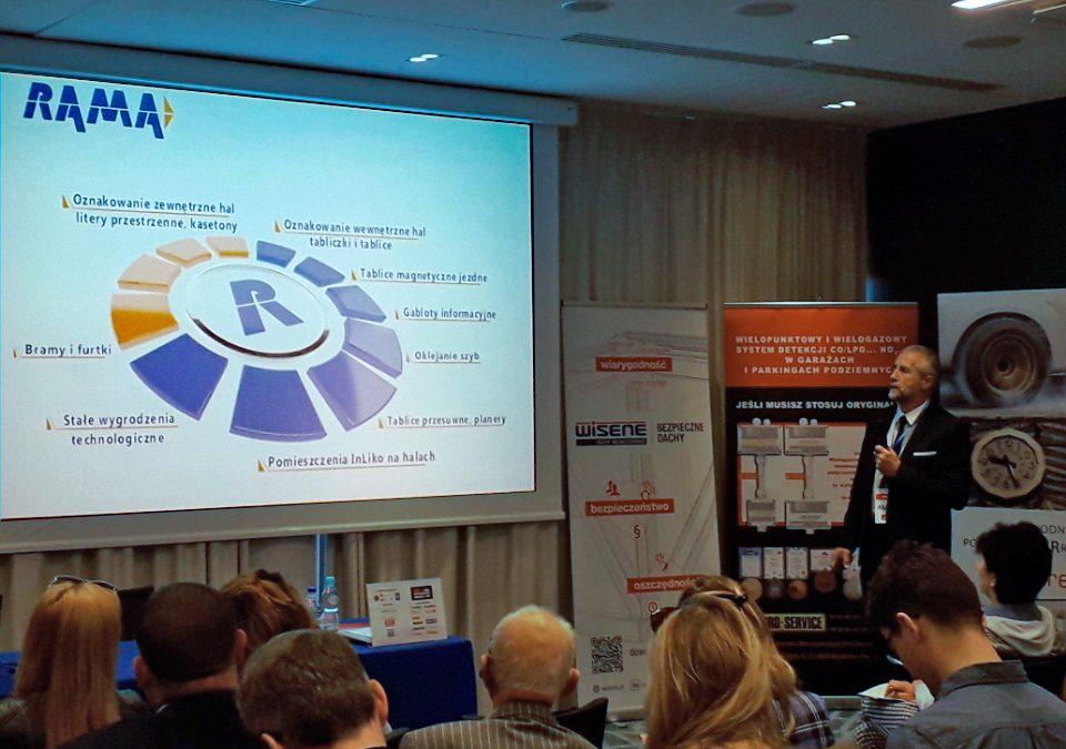 Rama na konferencji Wroclaw