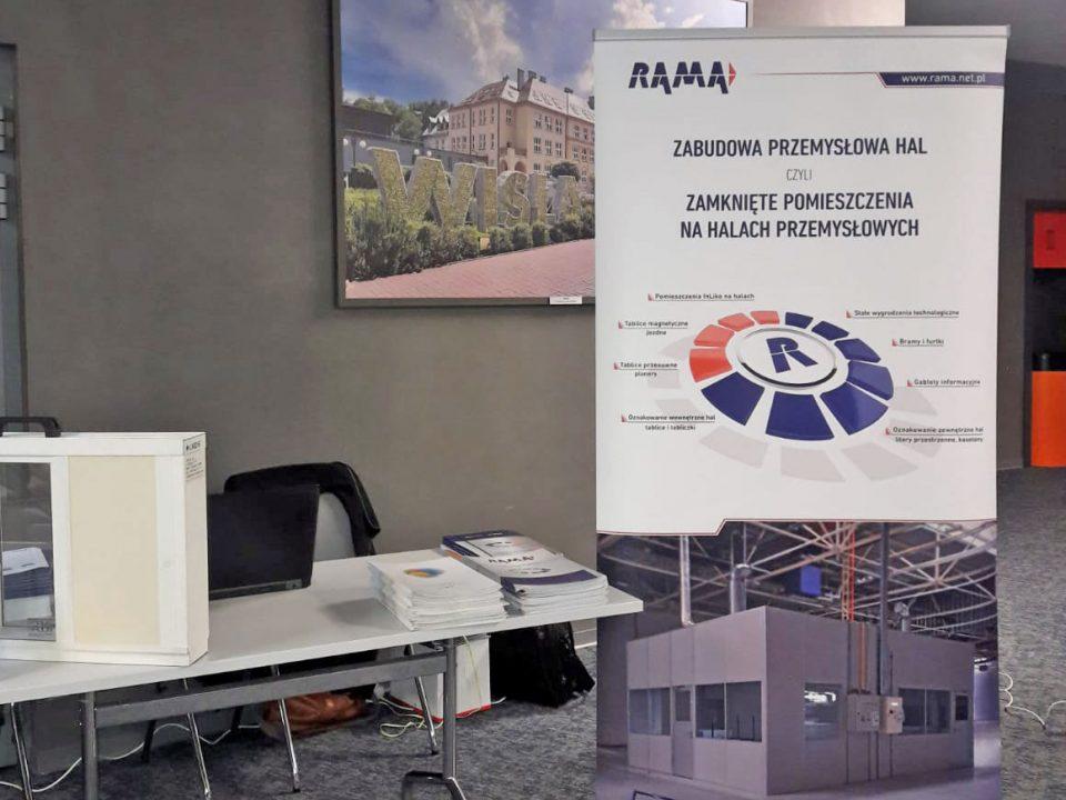 Rama na konferencji Gliwice